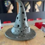 Clay Witch Hat / Lantern